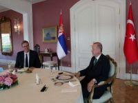 Erdoğan, Sırbistan Cumhurbaşkanı Vucic'i kabul etti