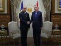 Erdoğan, Moldova Cumhurbaşkanı Dodon ile görüştü