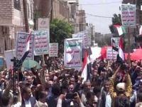 Yemen'de, siyonist işgal rejimi ile normalleşme anlaşmaları protesto edildi