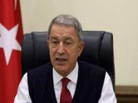 """Bakan Akar: """"Azerbaycanlı kardeşlerimizin yanında olacağız"""""""