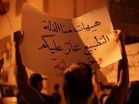 Normalleşme ihaneti anlaşması Batı Şeria'da protesto edildi