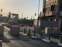 Siyonist işgal rejimi, Kudüs'e girişleri kapattı