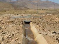 50 yıldır susuz olan araziler suyla buluştu