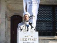 """Erbaş: """"İslam tarihi boyunca mabed ile mektep, cami ile üniversite hep içi içe olmuştur"""""""