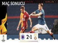 Cim bom Avrupa'ya veda etti: 2-1