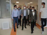 Milletvekili Ziver Özdemir Kadın Doğum ve Çocuk Hastalıkları Hastanesinde  incelemelerde bulundu