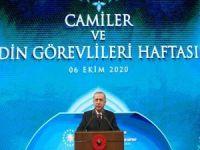 """Cumhurbaşkanı Erdoğan'dan Macron'un, """"İslam krizde"""" açıklamasına tepki"""