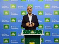 HÜDA PAR Genel Başkanı Sağlam'dan iç ve dış gündem değerlendirmesi