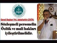 Diyanet Hak ve Adalet Sen'den sözleşmeli personele yapılan haksızlık giderilsin talebi