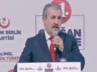 BBP'nin 11'inci Olağan Kurultayında Destici yeniden genel başkan seçildi