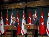Cumhurbaşkanı Erdoğan'dan KKTC Cumhurbaşkanı seçilen Ersin Tatar'a tebrik