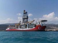 Kanuni sondaj gemisi İstanbul'a ulaştı