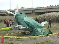 İstanbul'da eğitim uçağı düştü: 1 yaralı