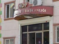 HDP Diyarbakır İl Binasında polis arama yaptı