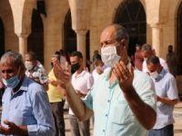 Şanlıurfa'da Cuma namazından sonra yağmur duası yapıldı