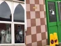 Avustralya'da camiye çirkin saldırı