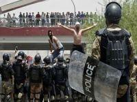 Irak'ta protestolar yeniden şiddetlendi