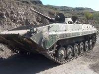 Azerbaycan, ele geçirdiği araç ve silahların görüntülerini paylaştı