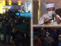 """Ayasofya Camii'nde 86 yıl aradan sonra ilk defa """"Mevlid Kandili"""" programı yapıldı"""