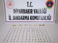 Diyarbakır'da tarihi eser kaçakçıları suçüstü yakalandı