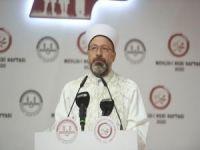 Erbaş: İslam'ın yükselişini engellemeye çalışıyorlar