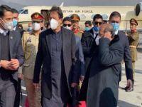 Pakistan Başbakanı İmran Han barış sürecini görüşmek üzere Afganistan'da