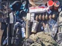 Irak'ın kuzeyinde PKK'ya ait mühimmat bulundu