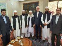 Taliban'dan İran Büyükelçiliğine taziye ziyareti