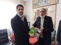 HÜDA PAR Malatya İl Başkanı Dönmezer Muhtarlar Derneğini ziyaret etti
