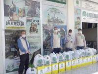 Mardin Umut Kervanı kasım ayında 434 aileye ayni ve nakdi yardım ulaştırdı
