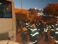 Siyonist işgalcilere ait otobüs Filistinlilerin arasına daldı: 2 Filistinli şehid oldu