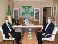 Vali Çuhadar'dan HÜDA PAR Adıyaman İl Başkanlığına ziyaret