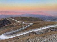 Türkiye-İran arasındaki 81 kilometrelik sınır duvarı bitti