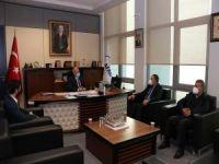 HÜDA PAR İstanbul İl Başkanı Erdal Elibüyük AFAD'ı ziyaret etti