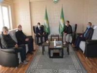 AK Parti Van İl Başkanı Türkmenoğlu HÜDA PAR Van İl Başkanlığını ziyaret etti