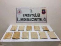 Mardin'de 6 kilogram eroin ele geçirildi