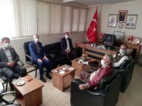 HÜDA PAR Antalya İl Başkan'ından Saadet Partisine ziyaret