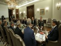 Başbakan Davutoğlu başkanlığındaki Güvenlik Toplantısı