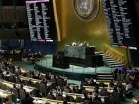 BM Genel Kurulu'nda Filistin ile ilgili karar taslağı ezici bir çoğunlukla kabul edildi