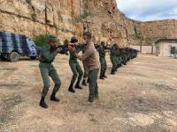 TSK Libya askerlerine eğitim vermeye devam ediyor