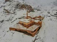 İshak Paşa Sarayından kar manzaraları