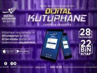 Hatay Büyükşehir Belediyesi 22 bin kitaplık dijital kütüphane oluşturdu