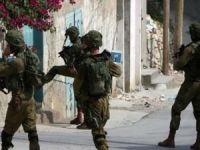 İşgal ordusu askerlerinden Ramallah'a baskın