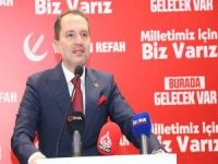 Yeniden Refah Partisi Genel Başkanı Erbakan partilerin ittifakını değerlendirdi