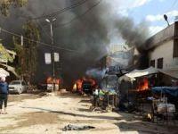 Afrin'de bombalı saldırı: Bir ölü 10 yaralı