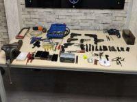 Gaziantep'te evini silah atölyesine çeviren şüpheli yakalandı