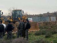 Siyonist işgal rejimi Filistinlilere ait tarım arazilerini işgal etmeyi sürdürüyor