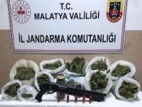 Malatya'da 5 kilo esrar ele geçirildi