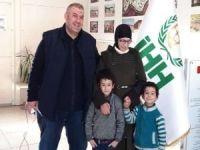 Suriyeli anne 2 yıldır ayrı kaldığı çocuklarıyla buluştu