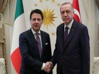 Cumhurbaşkanı Erdoğan İtalya Başbakanı Conte ile görüştü